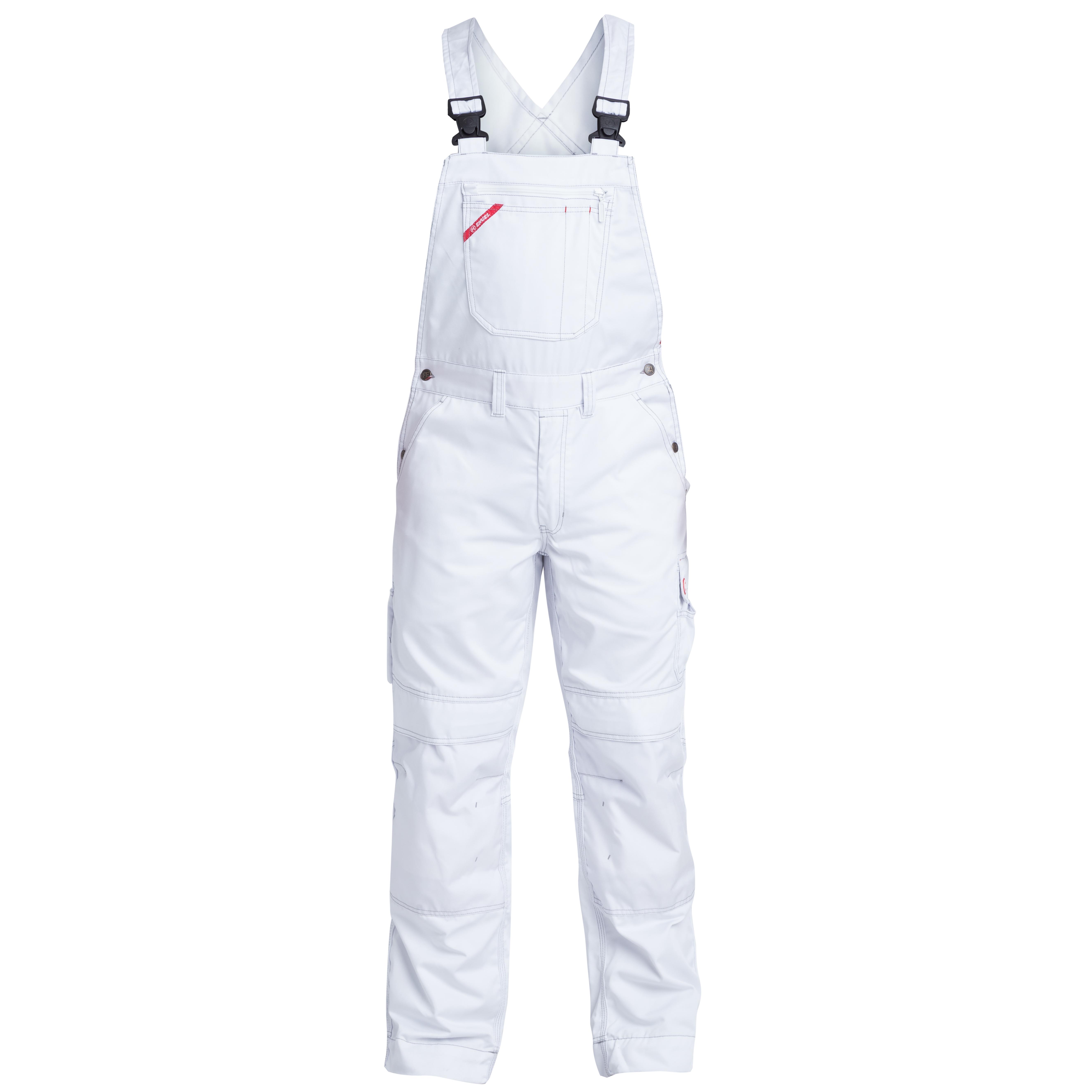 Heute im Angebot: COMBAT LATZHOSE - 3761-630 von ENGEL- Farbe- weiß