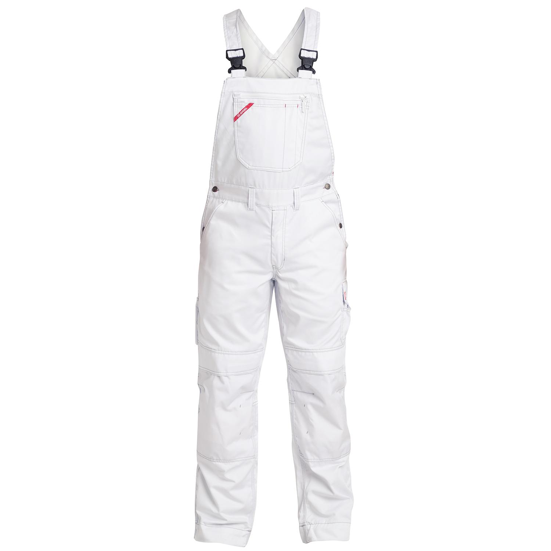 Heute im Angebot: COMBAT LATZHOSE - 3760-575 von ENGEL- Farbe- Weiß jetzt günstig kaufen