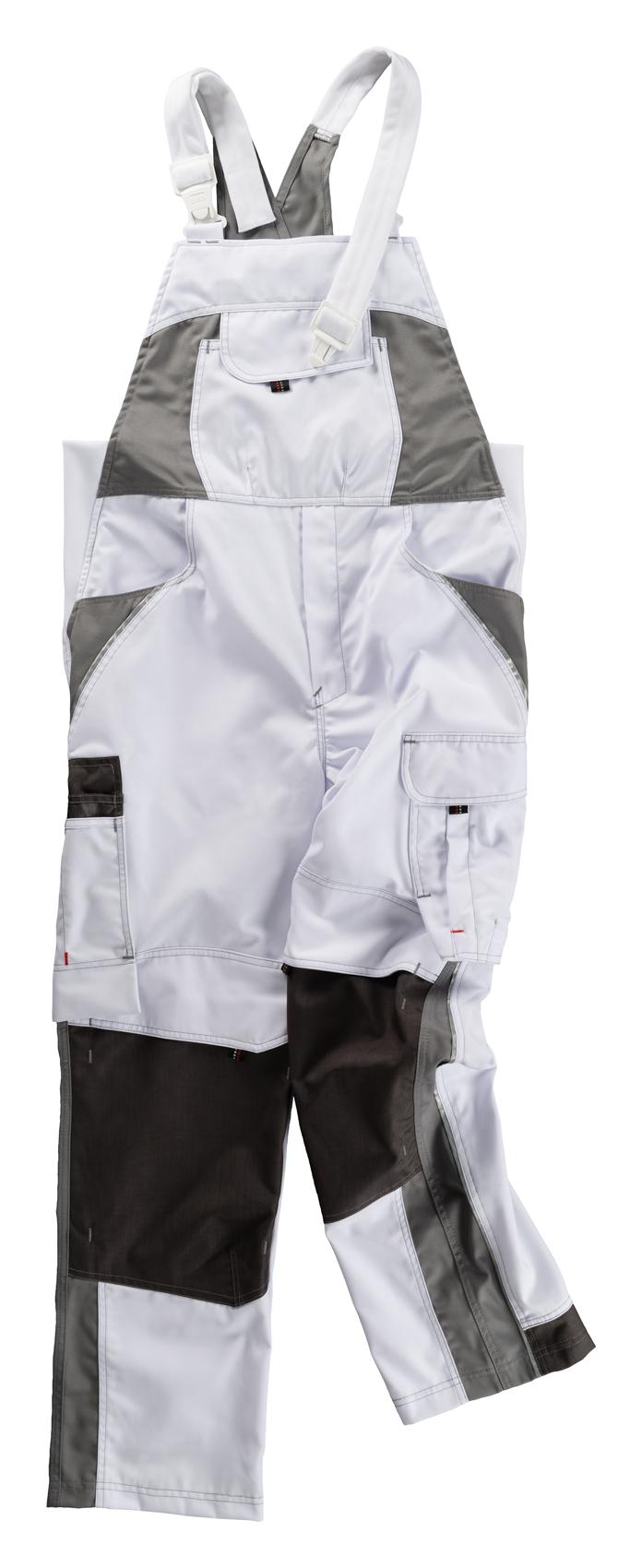 Heute im Angebot: Latzhose INFLAME von BEB / Farbe: Weiß/Grau jetzt günstig kaufen