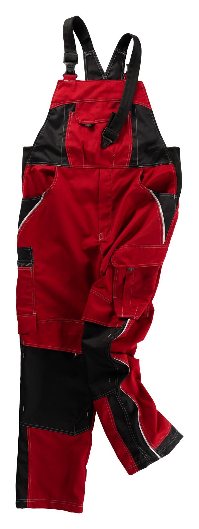 Heute im Angebot: Latzhose INFLAME von BEB / Farbe: Fire engine red in der Region Baden-Baden