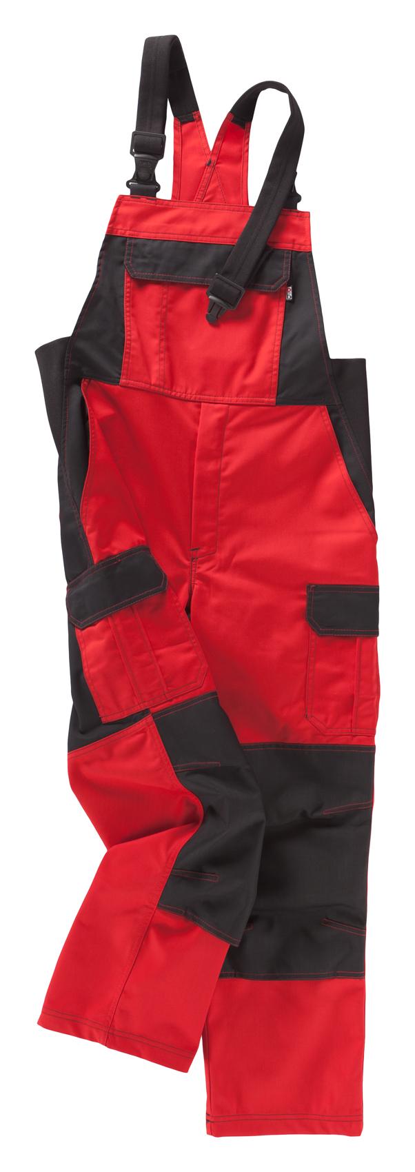 Heute im Angebot: Latzhose Premium - Modell 588 von BEB / Farbe: Rot jetzt günstig kaufen