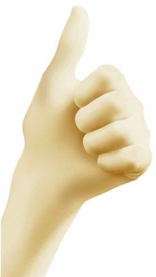 Heute im Angebot: Latex - Handschuh GEPUDERT und PUDERFREI jetzt günstig kaufen